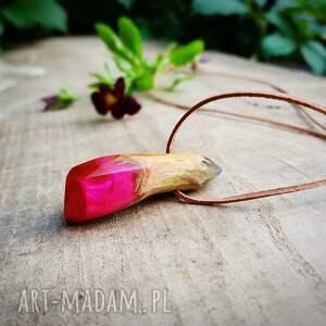 wisior wisiorki różowe azzurro pink