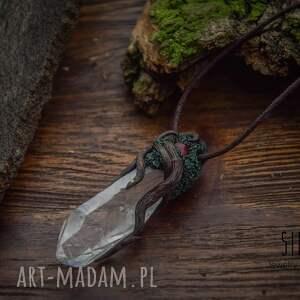 zielone wisiorki wisior crystalis