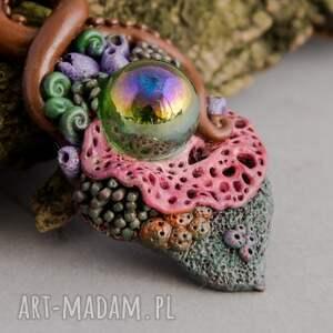 rafa wisiorki kolorowy wisior inspirowany naturą z motywem
