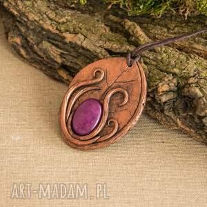 Sirius92 wisiorki naszyjnik elficki wisior inspirowany naturą w formie