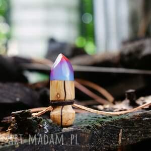 intrygujące wisiorki las wisior resinwood bullet
