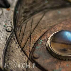 steampunkowy wisiorki wisior blue eye