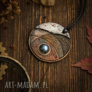 wisiorki steampunkowy wisior blue eye