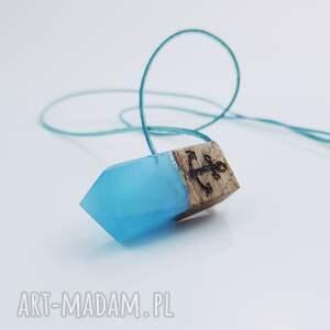 wisiorki kotwica wisior wooden anchor