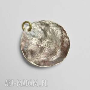 srebrne wisiorki naszyjnik wisior z alpaki, miedzi