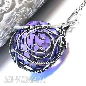 kryształ wisiorki wisior z kryształem swarovski