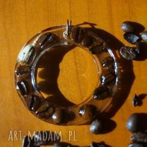 oryginalne wisiorki kawa wspomnienie woltera - wisior z kawy