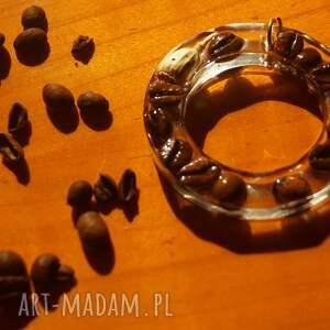 kawa wisiorki wspomnienie woltera - wisior z kawy