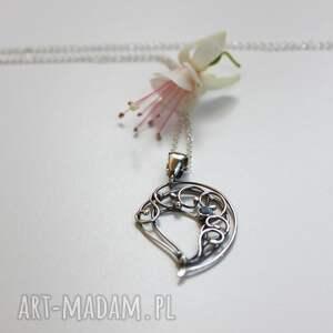 srebrne wisiorki srebro z ogrodu elfa
