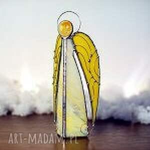 witraże lampion anioł uriel