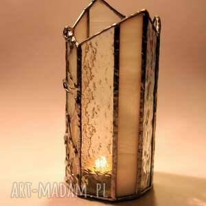 świacznik witraże lampion świtliście