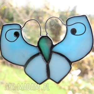 intrygujące witraże motyl niebiańczyk łagodny