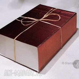 szkatułka witraże brązowe witrażowa retro