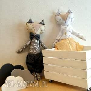 zabawki lalki mrs and mr lisek - mia&lou