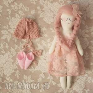lalka zabawki różowe bajka wiosenna - różana wróżka