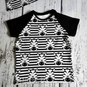 modne zabawki bluzka, t shirt w zebry (98 -140)