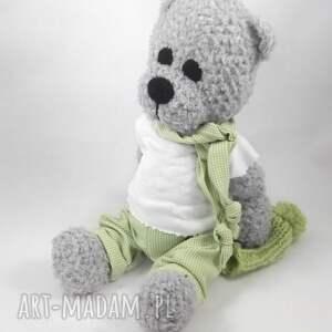 handmade zabawki włóczka borys
