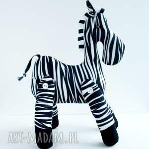 zabawki maskotka brykająca zebra przytulanka