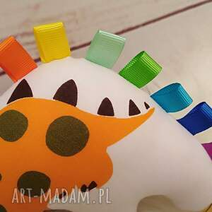 gustowne zabawki sensorek dinozaur