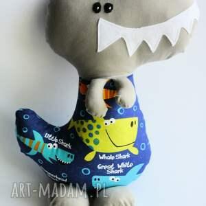 szare zabawki chłopiec dinozaur t-rex adaś 42 cm