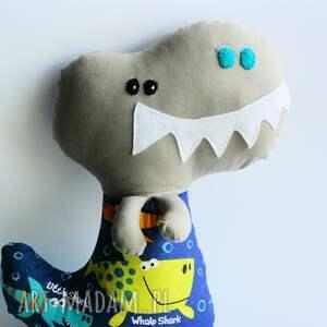 ręcznie robione zabawki dinozaur t-rex adaś 42 cm