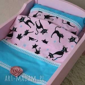 unikalne zabawki łóżeczko drewniane dla lalek