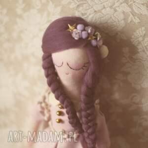 niepowtarzalne zabawki lalka fioletowa bajka - dalia