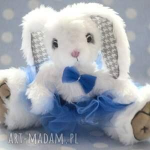 ręcznie zrobione zabawki miś hand made, królisia lola, szyta