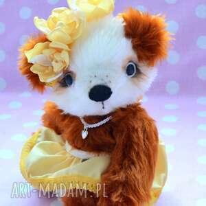 zabawki: Hand made, Misia Nela, szyta ręcznie, unikalna, zabawka, Przytul misie mi&#347