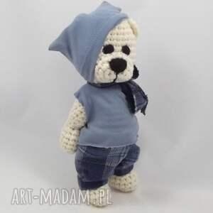 handmade zabawki miś jacuś