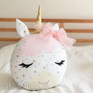 zabawki: Jednorożec różowy - Hand Made poduszka