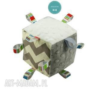 poduszka zabawki białe komplet niemowlaka, wzór chevron