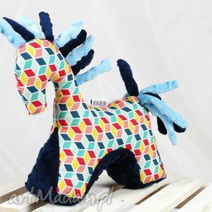 efektowne zabawki koń etno - przytulanka