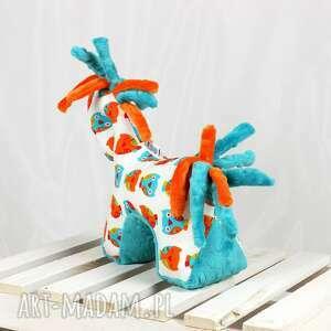 zabawki koń turkus - przytulanka