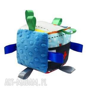 frapujące zabawki kostka sensoryczna, wzór