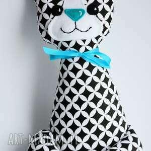 czarne zabawki kotek miau - teo 25 cm