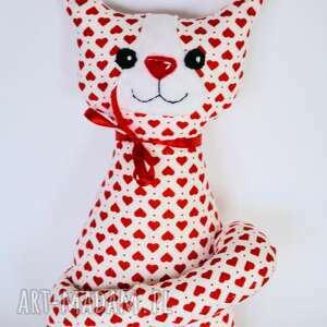 czerwone zabawki kicia kotek miau - kamilka - 25