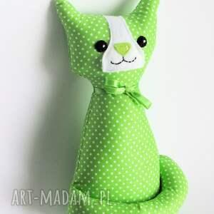 zielone zabawki kot kotek miauqn - teo