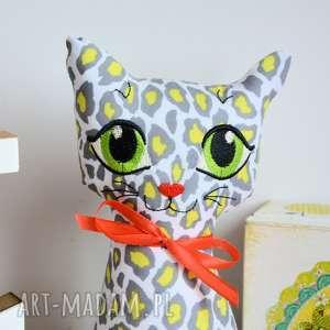 Maly Koziolek ręczne wykonanie zabawki kotek torebkowy - gepard