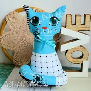 wyraziste zabawki kotek torebkowy - turkusek - 25