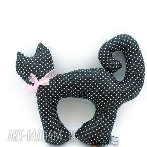zabawki przytulanki kotek zawijasek