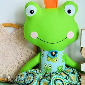 efektowne zabawki urodziny królewna zaczarowana w żabk&#281