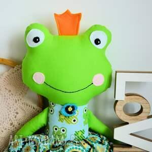 efektowne zabawki żabka królewna zaczarowana w żabk&#281