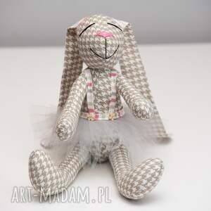 różowe zabawki personalizacja królik prezent z