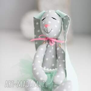 imię zabawki królik przytulanka z imieniem