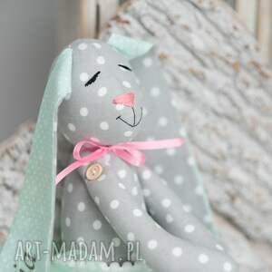 intrygujące zabawki imię królik przytulanka z imieniem