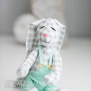 przytulanka zabawki królik z imieniem