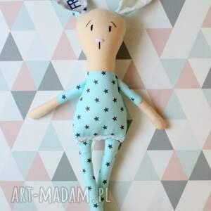 oryginalne zabawki zabawka królik przytulanka z imieniem