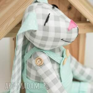hand-made zabawki królik z imieniem