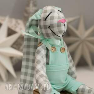 hand made zabawki królik z imieniem
